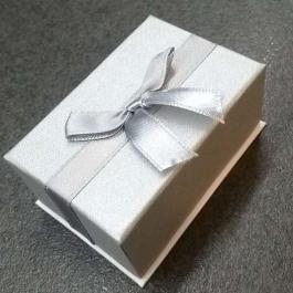 Krabička papírová stříbrná 2