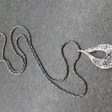 Stříbrný náhrdelník AG0215