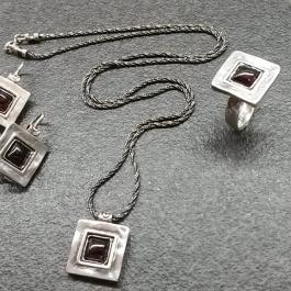 Stříbrná souprava AG0515G