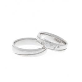 Pánský snubní prsten - SP01313P