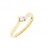 Zlatý prsten ZP01711