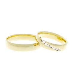 Pánský snubní prsten - SP01213P