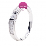 Zlatý prsten ZP2517AT