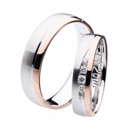 Pánský snubní prsten - SP00813P