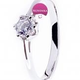 Zlatý prsten ZP0218