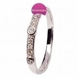 Dámský diamantový prsten - DP0218