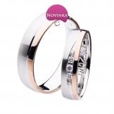 Dámský snubní prsten - SP00813D