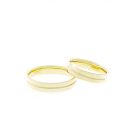 Pánský snubní prsten - SP01013P