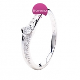 Zlatý prsten ZP2486AT